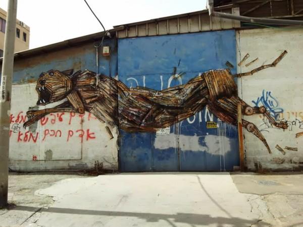 Dede, Israel, unique street art, great street artists, free walls, graffiti art.