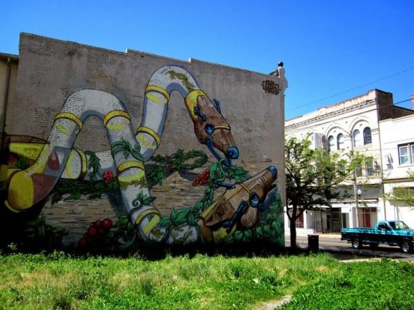 Pixel Pancho, Richmond, USA