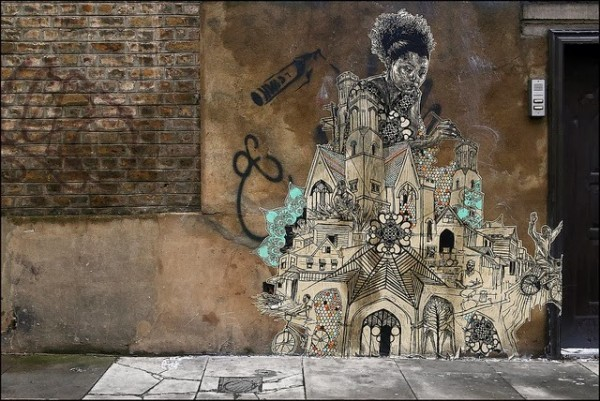 Swoon, London, UK, unique street art, great street artists, free walls, graffiti art.