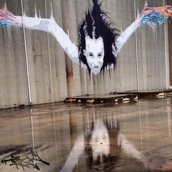 Vexta, unique street art, great street artists, free walls, graffiti art.