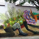 Beautiful street art in Mexico City by Curiot