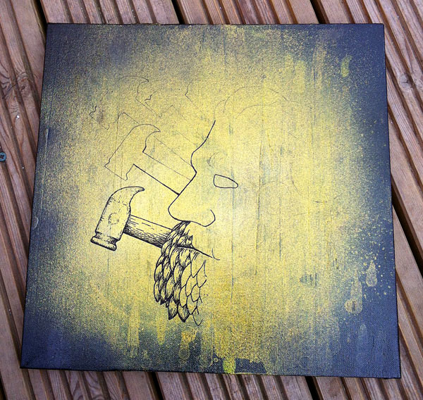Industrial Man Original Painting for Sale_02