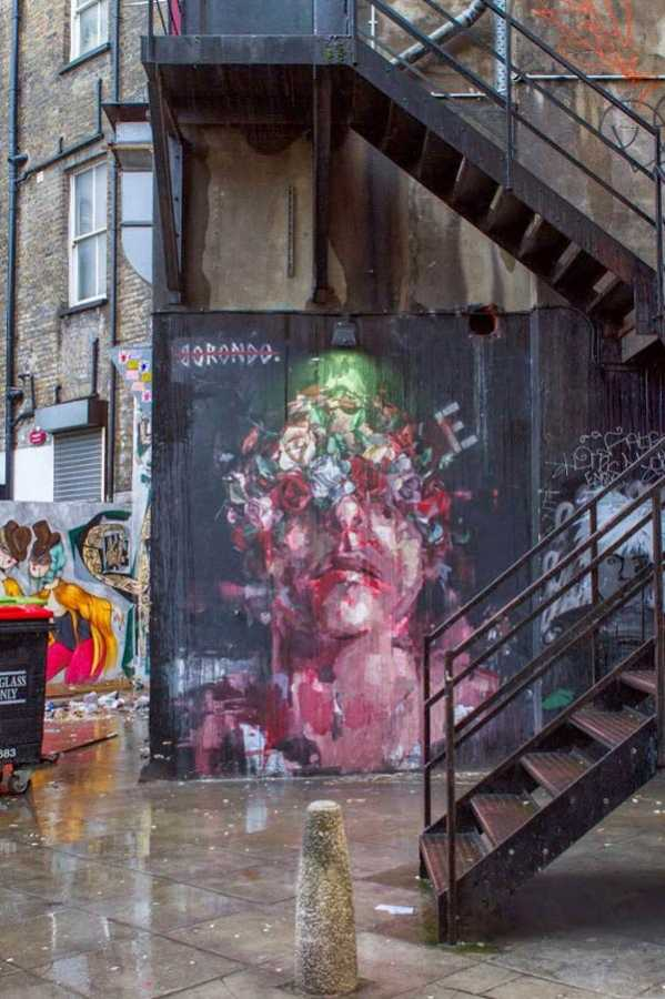 Shoreditch London Uk: Shoreditch, London, UK By Borondo And RexRomae