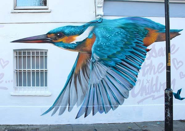 Street artist Will Vibes RVLRY London (1)