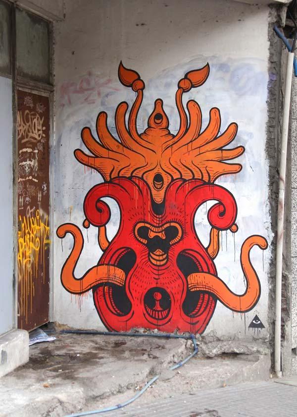 Alfalfa aka Nicolas Sanchez in Uruguay | stunning urban art, graffiti art, street art