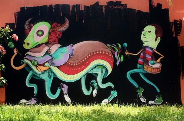 Andre Morbeck in Brazil | stunning urban art, graffiti art, street art