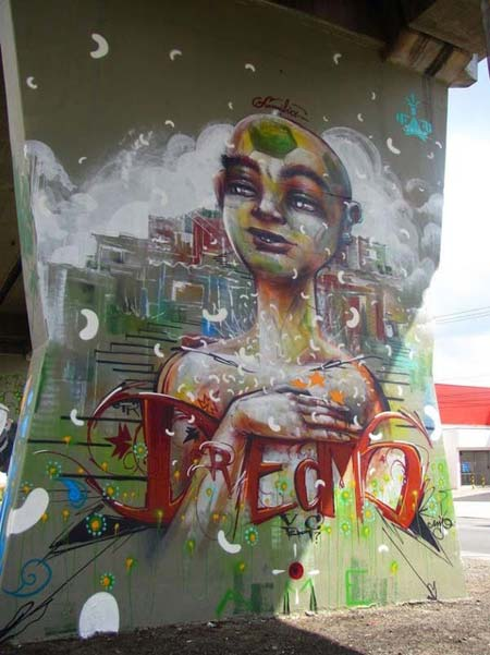 Anja | stunning urban art, graffiti art, street art