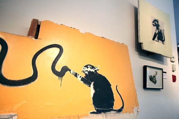 Banksy Celebrated in New Video!