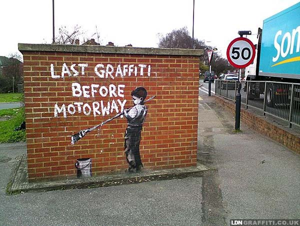 Banksy in London | explore street art of the world