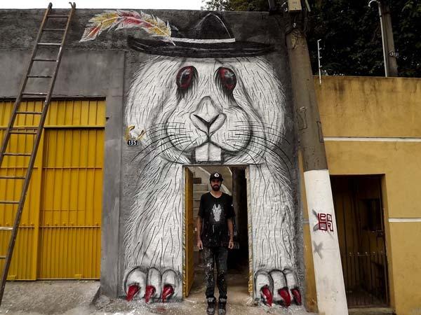 Berg in Brazil | explore street art of the world