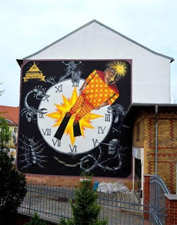 Captain Borderline | stunning urban art, graffiti art, street art