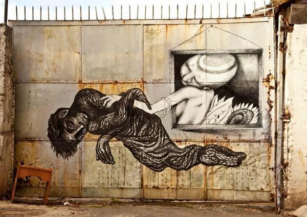 Claudio Ethos in Brazil | explore street art of the world