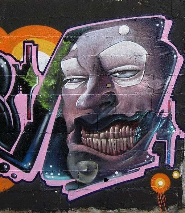 Fore-F | stunning urban art, graffiti art, street art