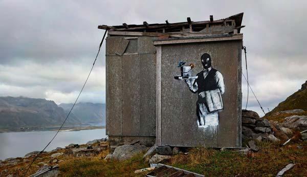 Great piece by Pobel in Norway | stunning urban art, graffiti art, street art