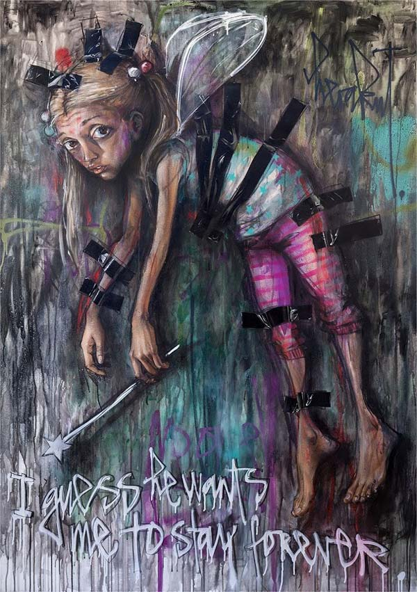 Herakut 3 | stunning urban art, graffiti art, street art
