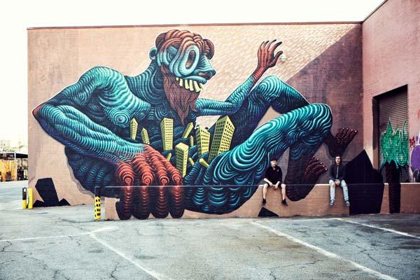 Jason Botkin | stunning urban art, graffiti art, street art