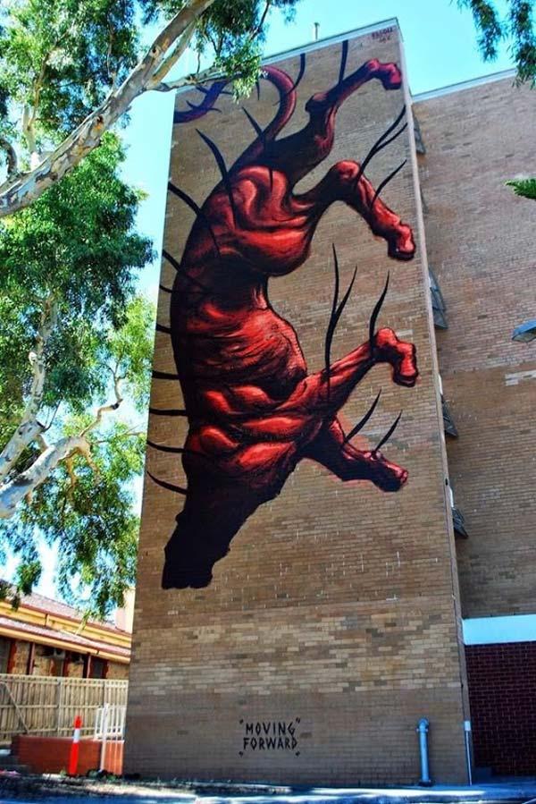 Jaz in Perth, Australia | stunning urban art, graffiti art, street art