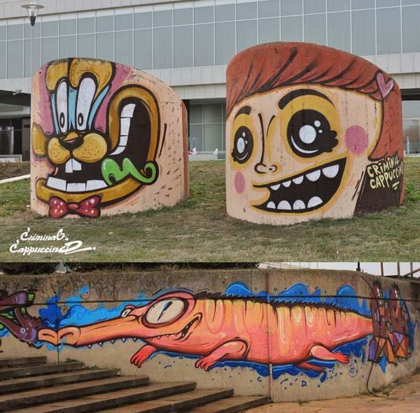Junk in Belgrade | stunning urban art, graffiti art, street art