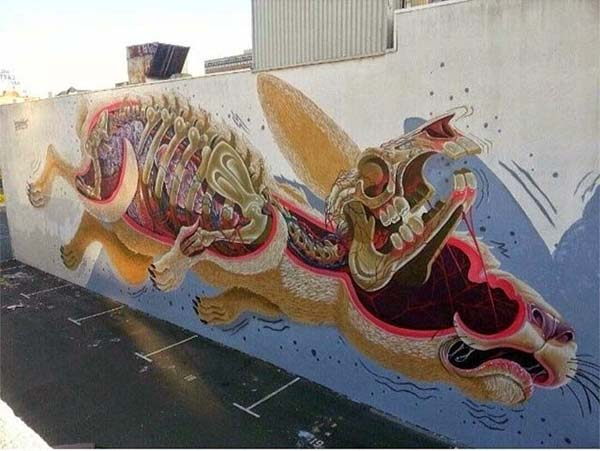 Nychos in Oakland, USA