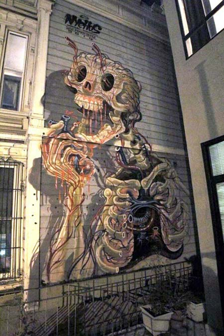 Nychos in San Francisco, USA