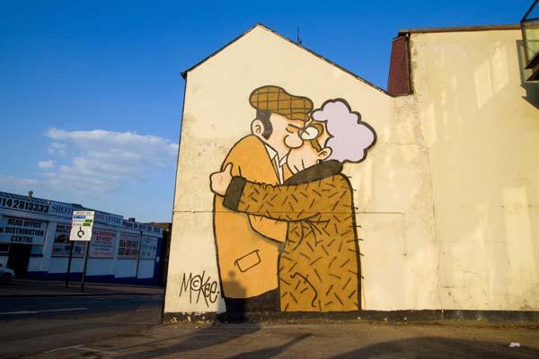 Pete McKee in Sheffield, UK
