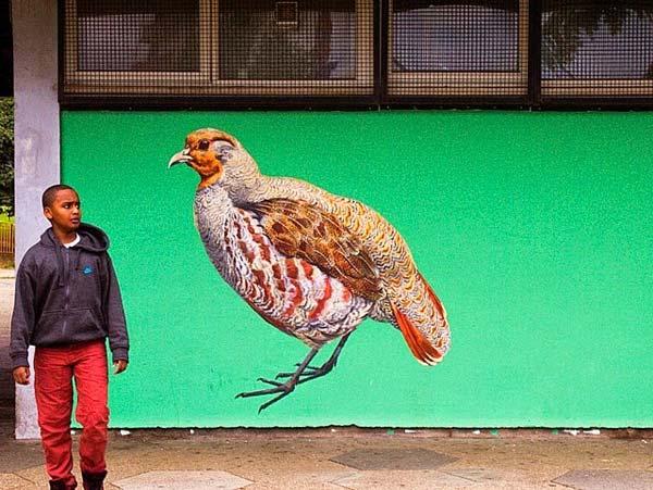 Street art in London, UK by ATM | explore street art of the world