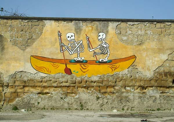 Street art in Naples, Italy by ARP | explore street art of the world