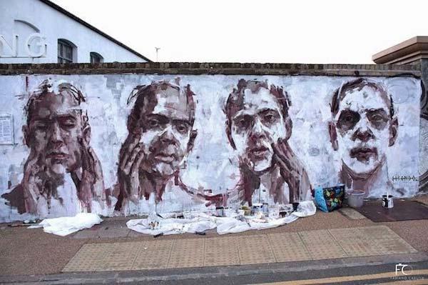 Stunning Urban Art & Graffiti Art :Vol 46