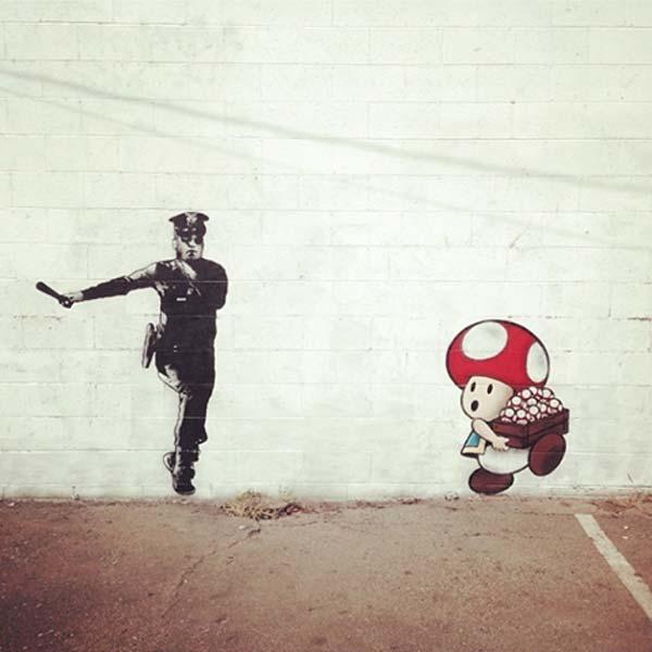 Trust Icon | explore street art of the world
