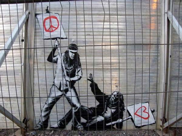 banksy | stunning urban art, graffiti art, street art