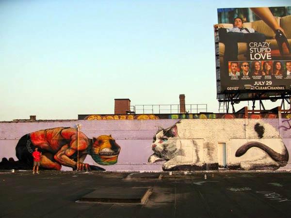 Brooklyn, NYC, USA by Cern Wonder & JAZ (Photo by Cern Wonder)