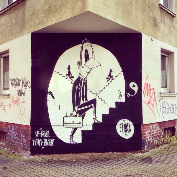 Dortmund, Germany by Brazilian artist Alex Senna