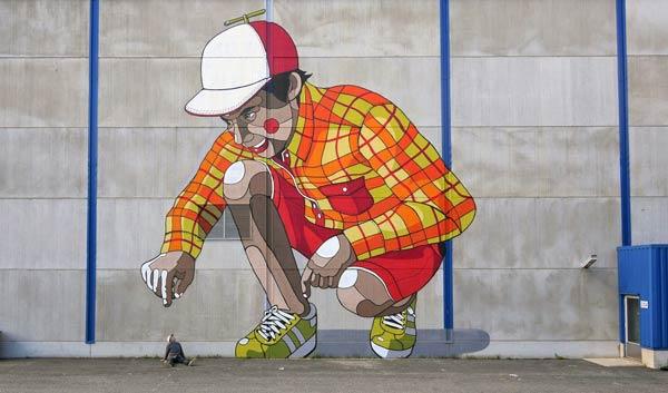 Street art in Finland by Pallo