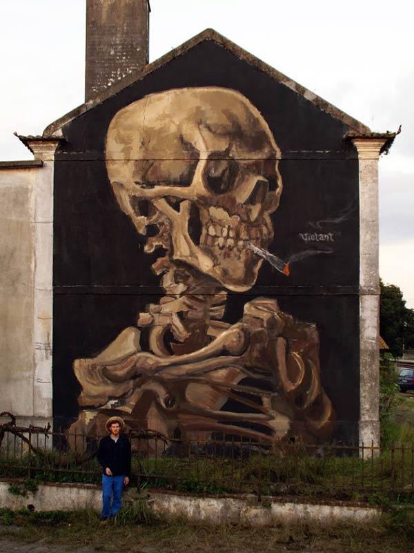 Urban art by Portugal's Violant