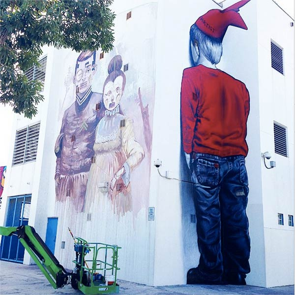 MTO and Pixel Pancho in Wynwood, USA