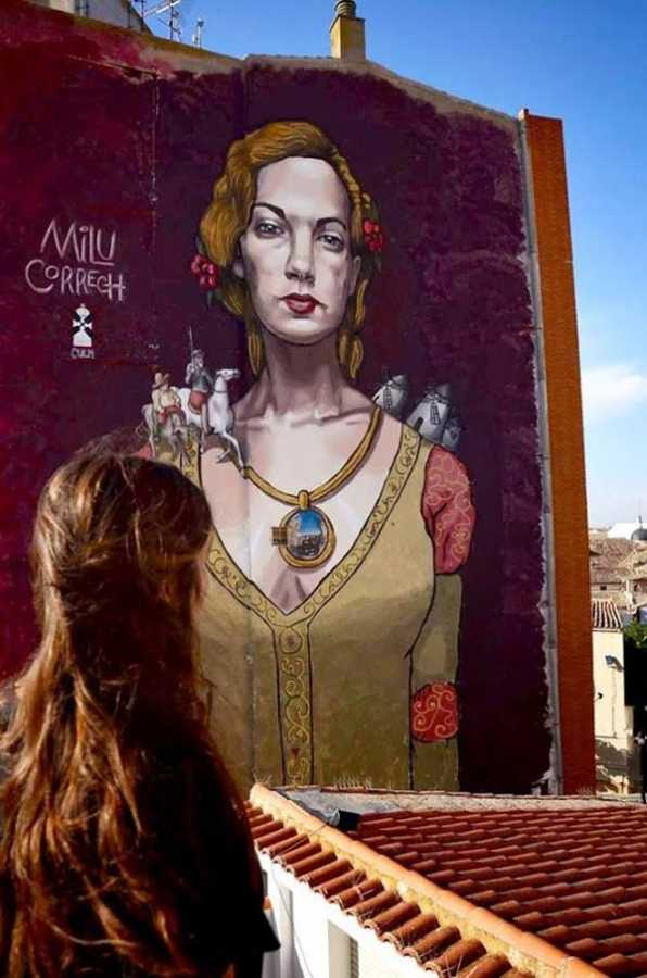 Mural by Milu Correch