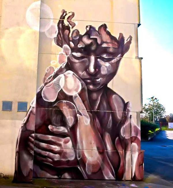 Street art in Chieri, Italy by Paola Delfin