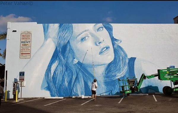 Street Art 2016- Australian artist Rone