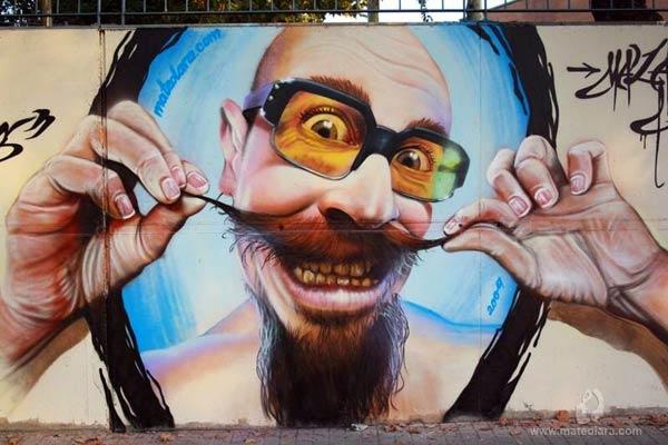 Street Art 2016 - Mural by Mateo Lara