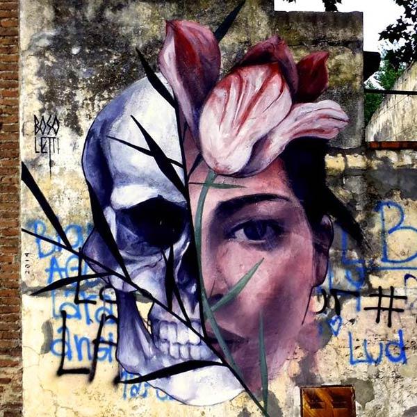 Street Art 2016- Urban art in Canada de Gomez, Argentina by Fran Bosoletti