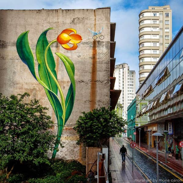 Curitiba, Brazil by Mona Caron