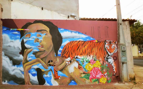 Street art in Brazil byZeh Palito