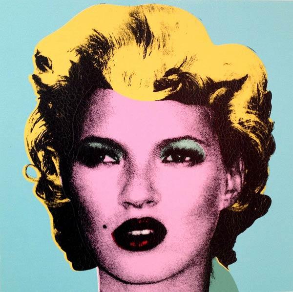 Banksy - Kate (Andipa Gallery) War Capitalism & Liberty Exhibition
