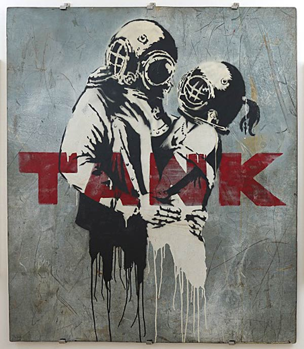 Banksy Exhibition : War Capitalism & Liberty