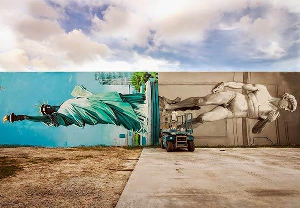 Italian urban artist Ozmo