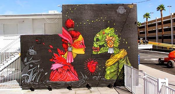 Las Vegas, USA by artist Saner