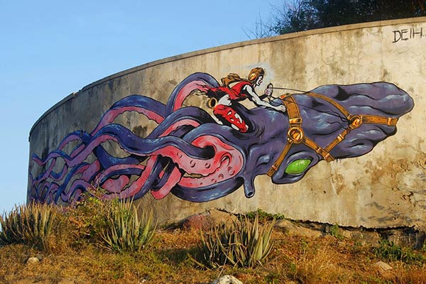 Great wall murals and amazing street art from around the world for Mural street art