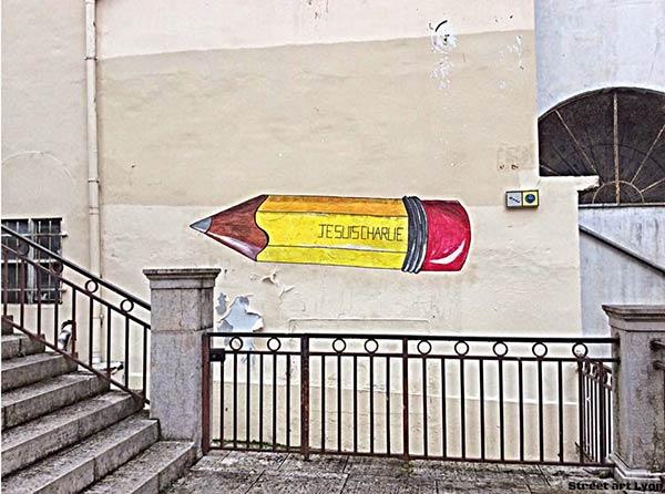 Street art n Lyon, France (Photo by StreetArtLyon)
