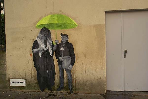 Urban art in Paris, France by Le Mouvement