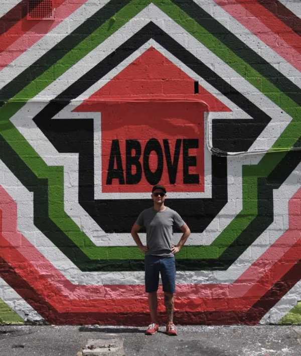 Street artist Above for Heliotrope